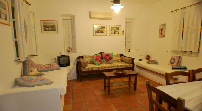 Rooms in Sifnos
